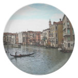 Canals of Venice Plate