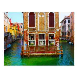 Canals  of Venice Postcard