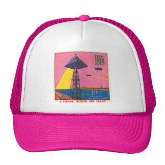 Canals on Mars Trucker Hat