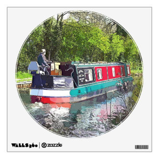 Canal Boats Uk Wall Decals Wall Stickers Zazzle - Decals for boats uk