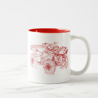 CanAm Outlander DPS 2013 Two-Tone Coffee Mug