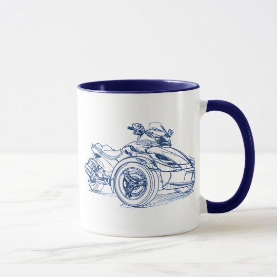 CanAm Spyder RS 2010 Mug