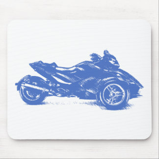 CanAm Spyder RS 2010 streaked Mouse Pad