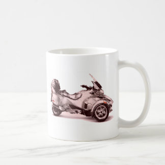 CanAm Spyder RT 2010 cracked Coffee Mug