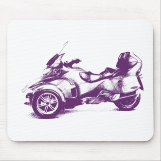 CanAm Spyder RT 2010 streaked Mouse Pad