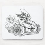 CanAm Spyder RT Roadster 2010 Mousepad