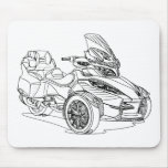 CanAm Spyder RTS 2013 Mouse Pads