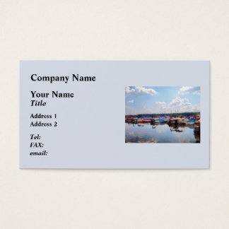 Canandaigua City Pier Business Card