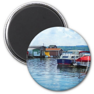 Canandaigua Fishing Shacks Magnets