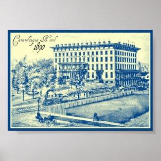 Canandaigua Hotel 1890 print