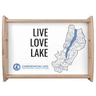Canandaigua lake Serving Tray