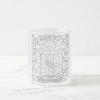 Canaria Frosted Glass Coffee Mug