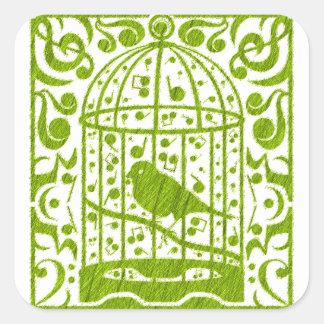 Canaria Square Sticker