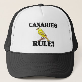 CANARIES Rule! Trucker Hat