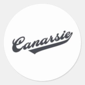 Canarsie Classic Round Sticker