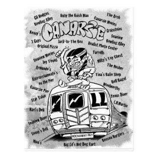 Canarsie Design Postcard