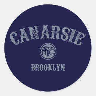 Canarsie Round Sticker
