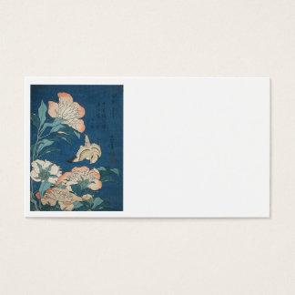 Canary and Peonies Business Card
