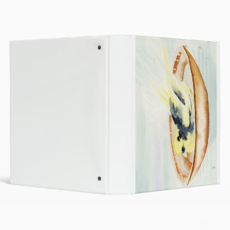 Canary Bath Time 3 Ring Binder