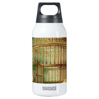 Canary Bird Cage Victorian SIGG Thermo 0.3L Insulated Bottle