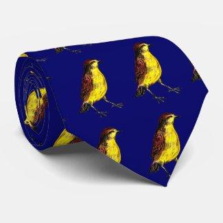 Canary Bird Tie