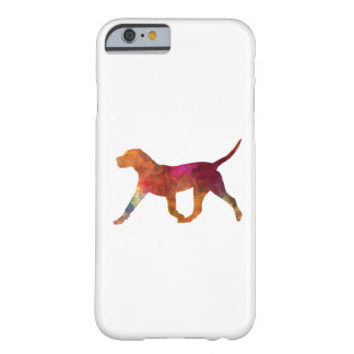 Canary bulldog in watercolor barely there iPhone 6 case