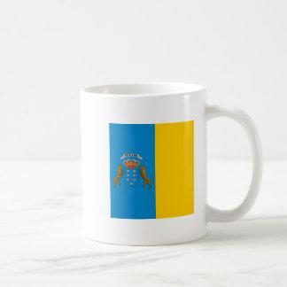 canary island flags mug