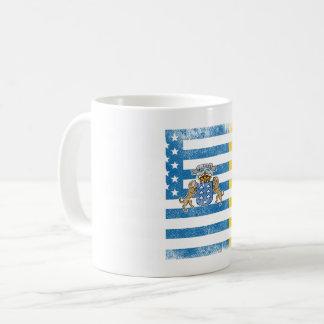 Canary Islander American Flag   Canary Islands Coffee Mug