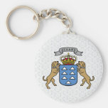 Canary Islands Coat of Arms detail Keychains