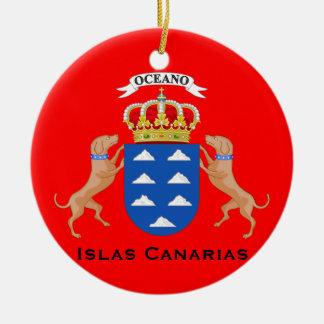 Canary Islands Cutom Christmas Ornament