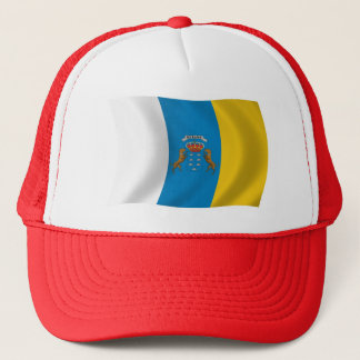Canary Islands Flag Hat