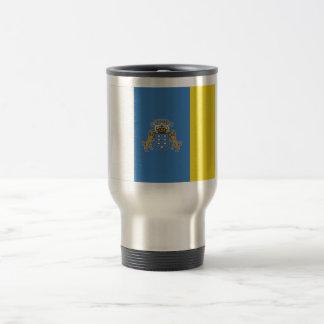 Canary Islands Flag Coffee Mugs