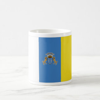 Canary Islands flag mug