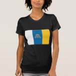 Canary Islands Flag PERSONALIZE T Shirts