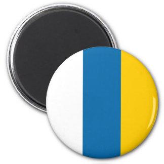 Canary Islands flag spain region symbol Magnets