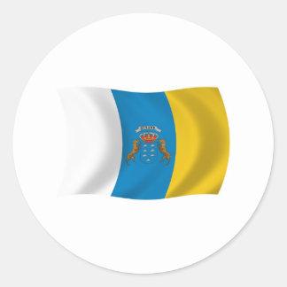 Canary Islands Flag Sticker