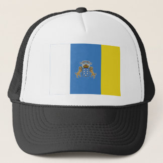 Canary Islands Flag Trucker Hat