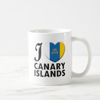 Canary Islands Love Coffee Mug