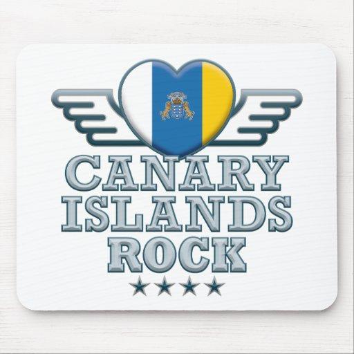 Canary Islands Rock v2 Mousepad