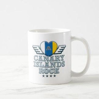 Canary Islands Rock v2 Coffee Mugs