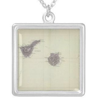 Canary Islands Silver Plated Necklace