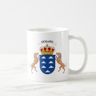 Canary Islands (Spain) Coat of Arms Mug