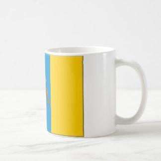 Canary Islands (Spain) Flag Coffee Mug