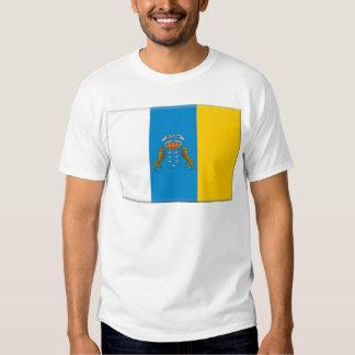 Canary Islands (Spain) Flag T-shirt