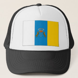 Canary Islands (Spain) Flag Trucker Hat