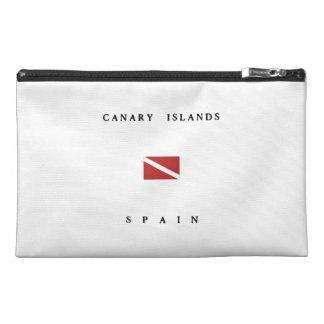 Canary Islands Spain Scuba Dive Flag Travel Accessories Bag