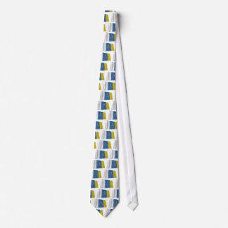Canary Islands Waving Flag Tie