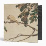 Canary on an Oak Tree Branch Binders