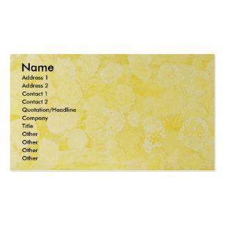 Canary Pollen Business Card