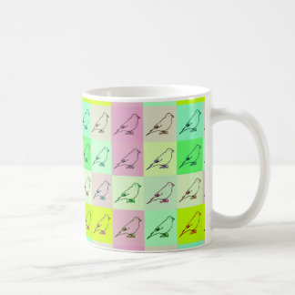Canary Pop Art Coffee Mug